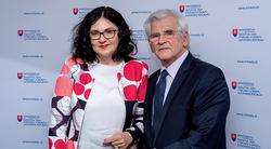 Martina Lubyová a Štefan Kassay