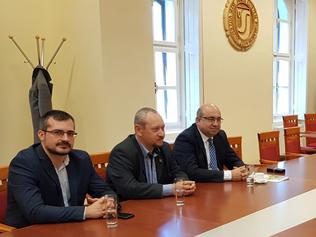 Ďalšie rokovanie ospoločných aktivitách univerzity anadácie v Komárne
