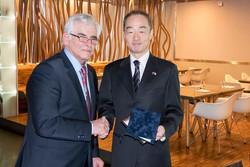 Obed s veľvyslancom Japonska