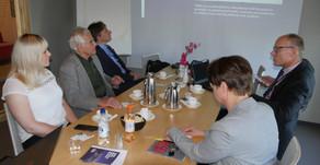 Prezentácia na Univerzite aplikovaných vied v Tampere