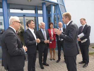 Minister hospodárstva SR Peter Žiga navštívil Pečivárne Sereď