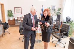 Štefan Kassay s Líviou Klausovou