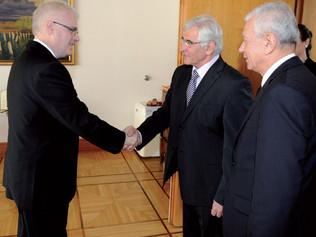 Slovenský vedec a podnikateľ u prezidenta Chorvátska