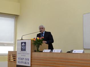 """Profesor Kassay vystúpil na medzinárodnej vedeckej konferencii """"Podnikanie ainovácie podnikateľskýc"""