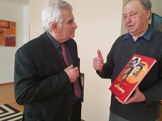 Neformálne stretnutie Štefana Kassaya sVojtechom Rušinom vStarej Lesnej