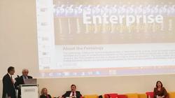 Štefan Kassay počas prednášky na IBS v Sofii