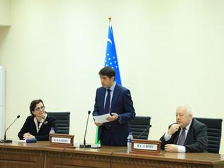 Delegácia zo Slovenska na návšteve UWED v Taškente