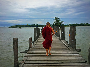U bein bridge birmanie myanmar
