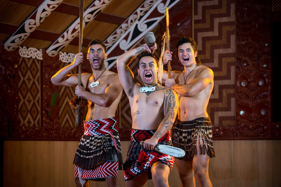 Te Puia - Spectacle de danse Maori