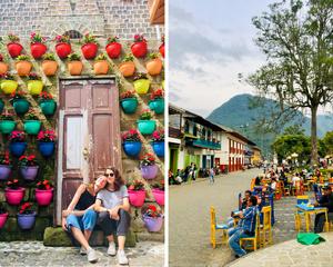 Ville de Jardin en Colombie