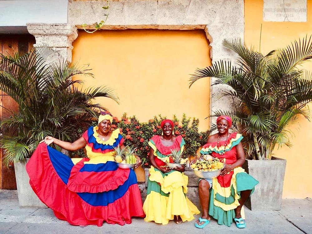 Femmes Palenque, Cartagena de Indias