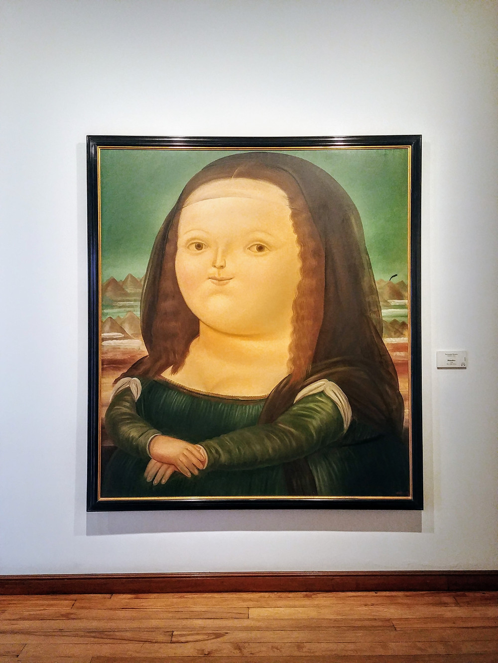 Mona Lisa, Botero