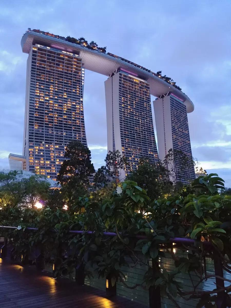 Hotel piscine singapour