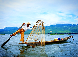 Lake Inle en Birmanie