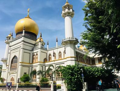 Temple little india Singapour