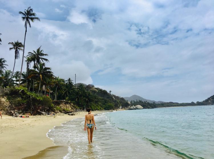 place arrecifes parc tayrona colombie