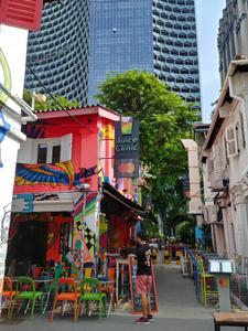 Haji Lane rue singapour
