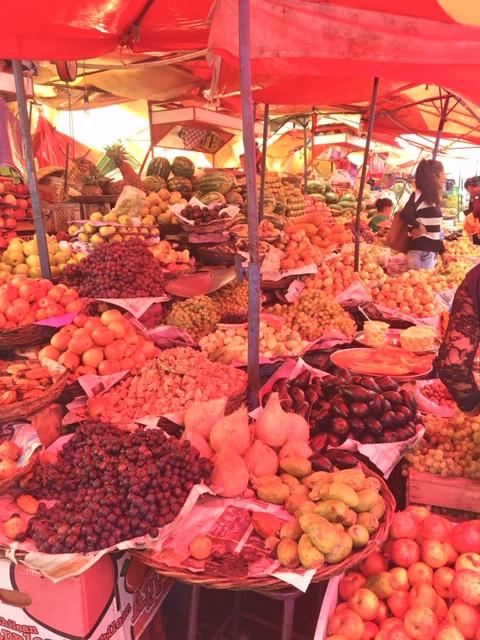 Marché Sucre, Bolivia