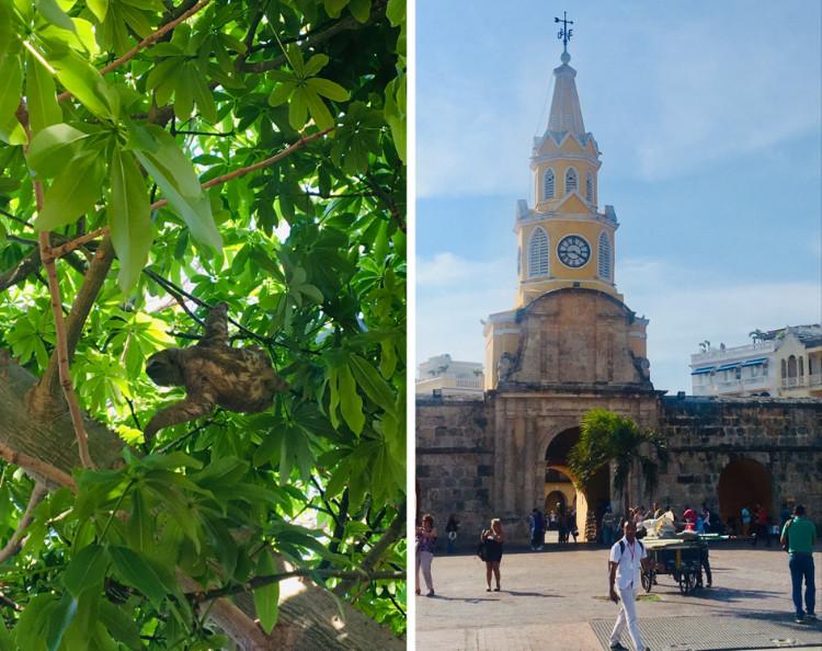 Tour de l'Horloge, Cartagena de Indias