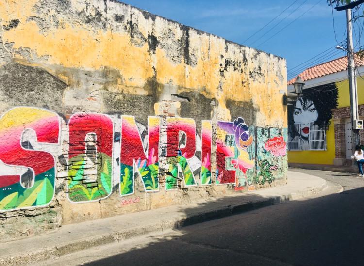 Street Art à Getsemani, Cartagena