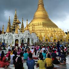 Shwedagon Pagoda, Birmanie Myanmar