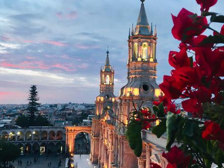Jour 71 à 74 : La reposante ville d'Arequipa et le Canyon del Colca