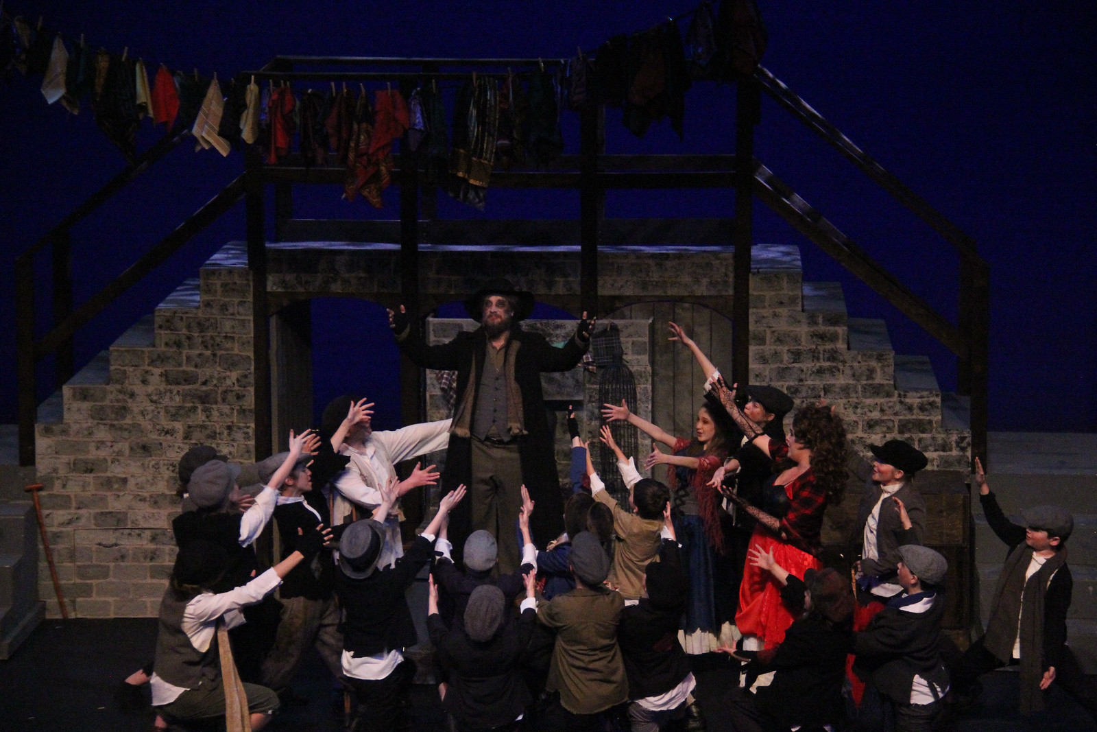 anything hands up fagin