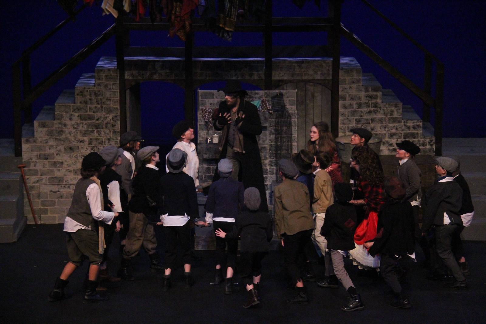 anything fagin kids surround