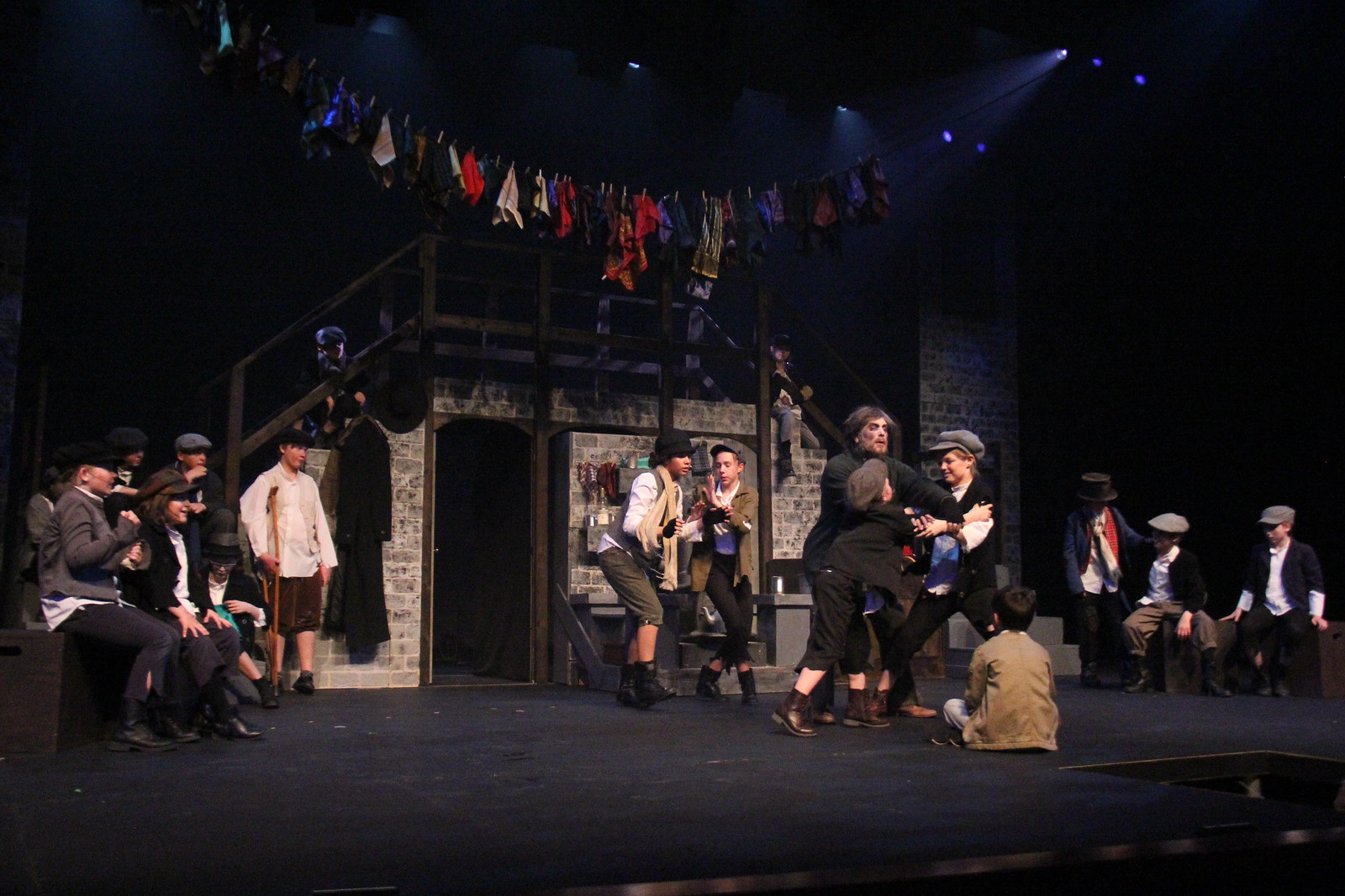 thieves kitchen fagin break up