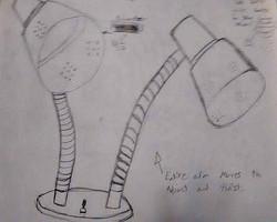 DeskLamp-Sketch
