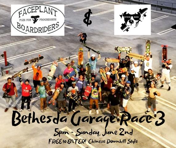 Bethesda Garage Race 3 Poster