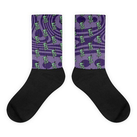 """FB Socks """"Purple Creep"""""""