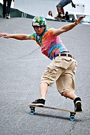 Brian Fitch: Skate for Peace Host