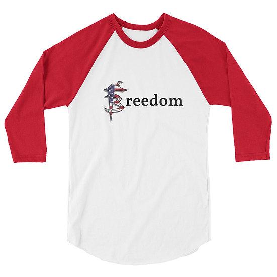 "FB 3/4 Shirt ""Patriot"""
