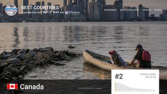世界上生活質素最好嘅國家! 加拿大!