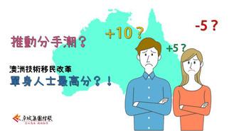 推動分手潮? 澳洲移民改革,單身人士最高分?