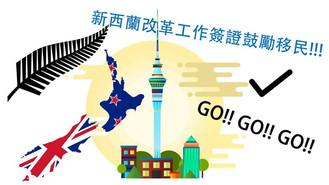 新西蘭改革工作簽證鼓勵移民!!!