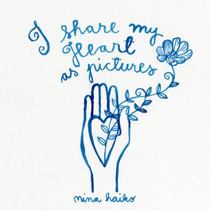 I share my Heart as pictures