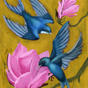 Flowers and Birds 1