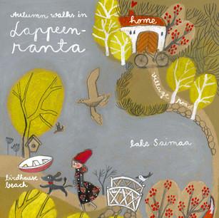 Autumn walks in Lappeenranta