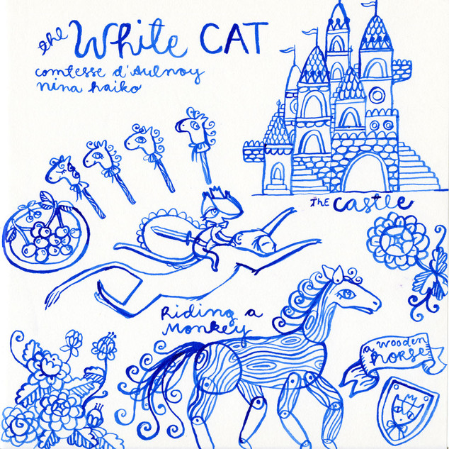 Scenery of The White Cat