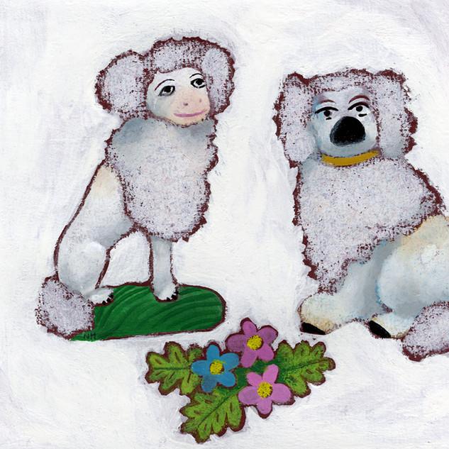 Staffordshire Poodles