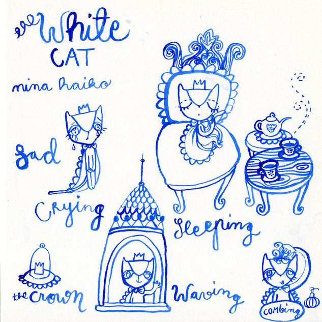 Feelings and Emotions of The White Cat