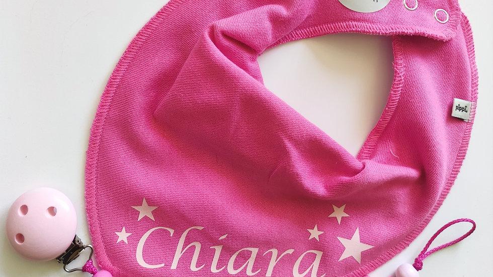 "Set Pink mit Sterne ""Name"""