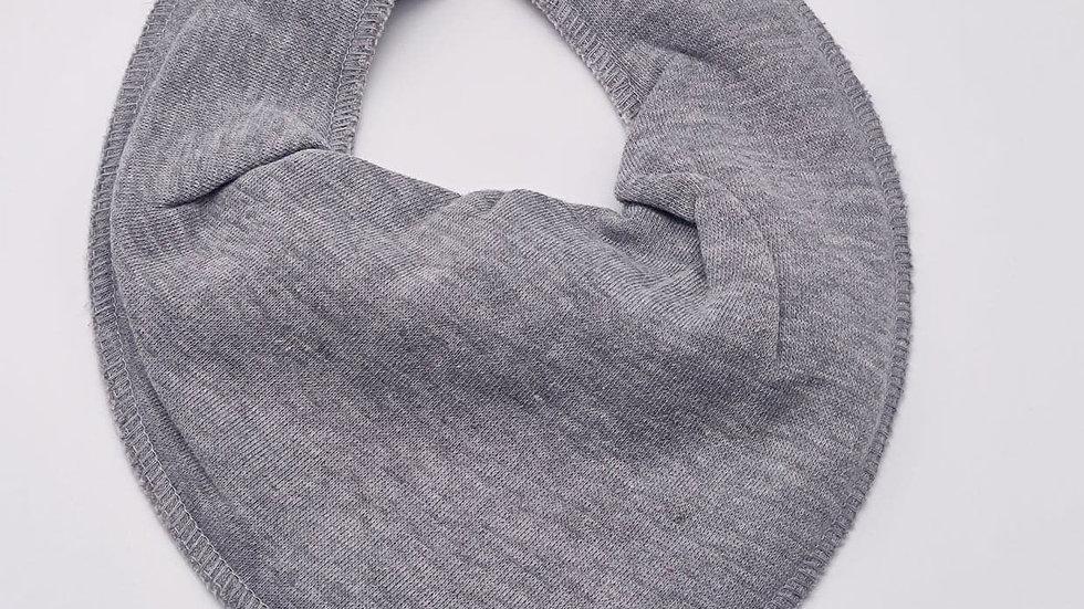 Pippi Dreieckstuch grey melange