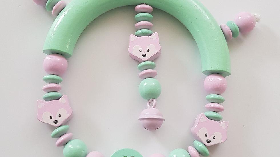 Greifling Mint/Rosa