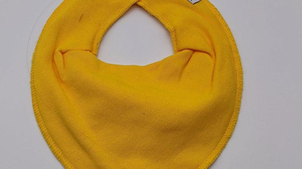 Pippi Dreieckstuch yellow