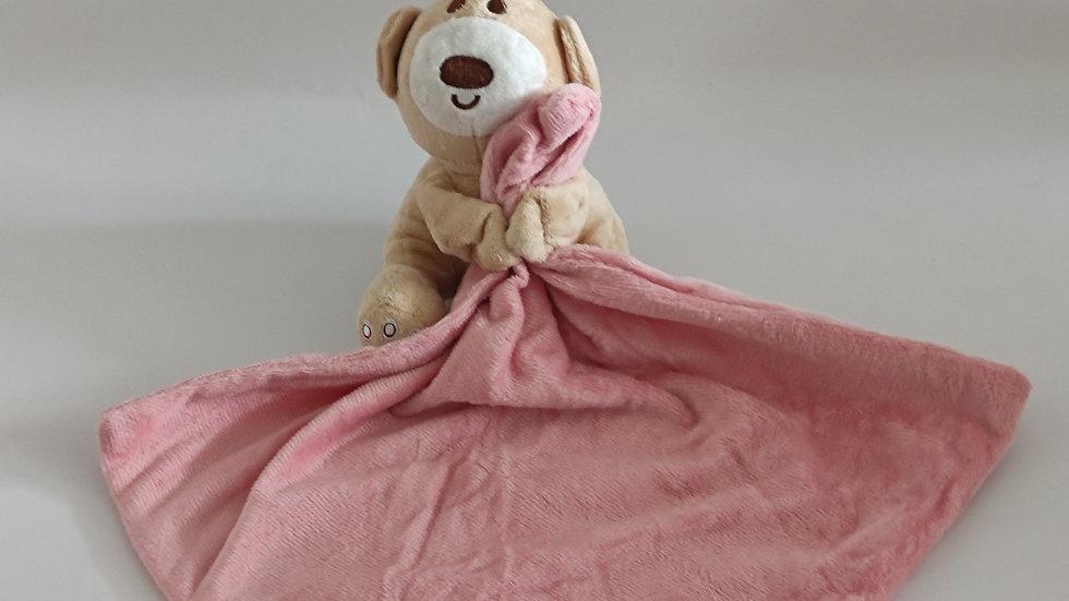 Kuscheltuch Bär