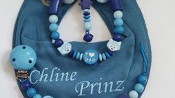 Set Chliine Prinz Blau