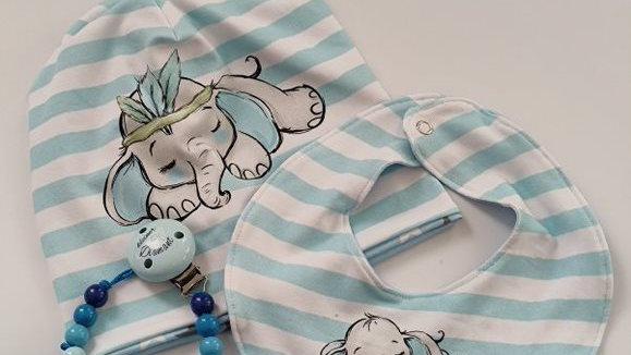 Elefanten Set Blau